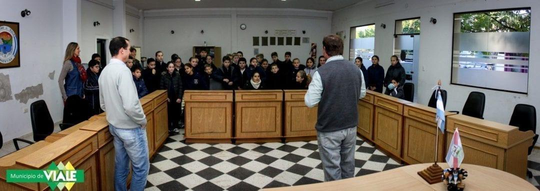 El Concejo Deliberante se abre a las Escuelas