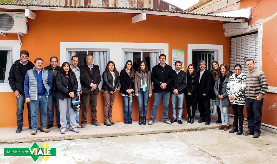 Inauguración nuevas oficinas del ANAF