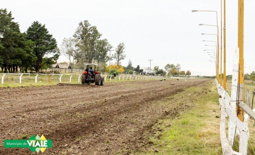 El Municipio realiza mejoras en la Hiporrecta