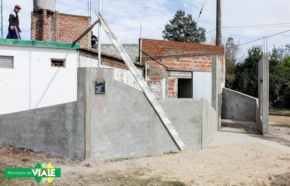 """Avanzan las obras del Jardín Maternal """"Campanita"""""""