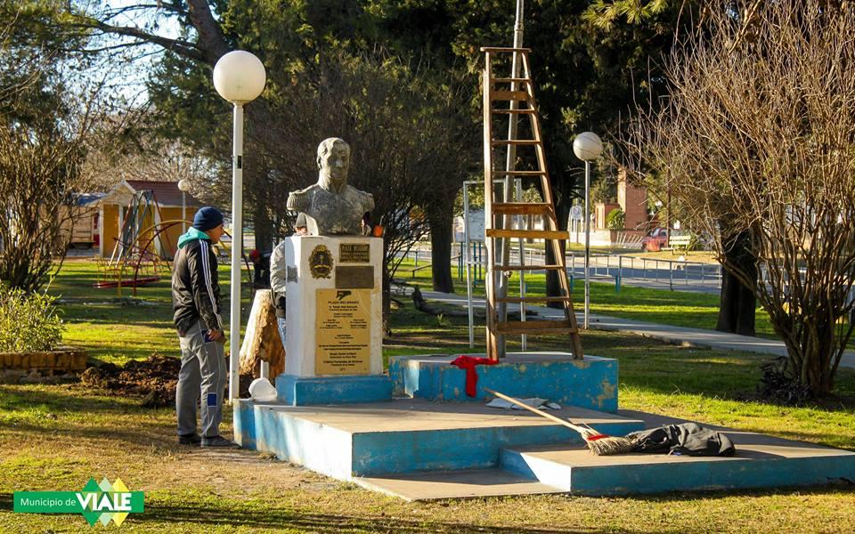 El Municipio realiza mejoras en calles y plazas