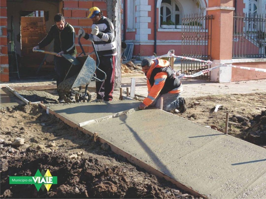 Construcción de vereda