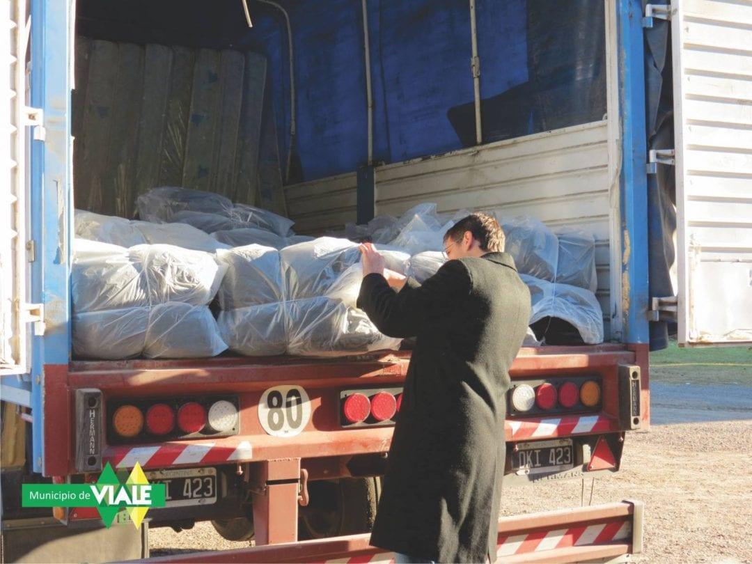 El Municipio recibió colaboración de Nación para ayudas sociales