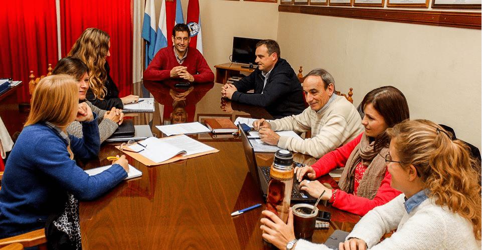 Municipio de Viale colabora con el de San Benito para su proyecto de Hábitat