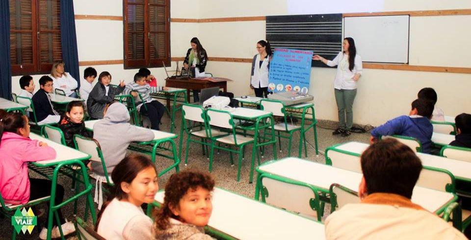 Bromatología continúa con sus charlas por las escuelas