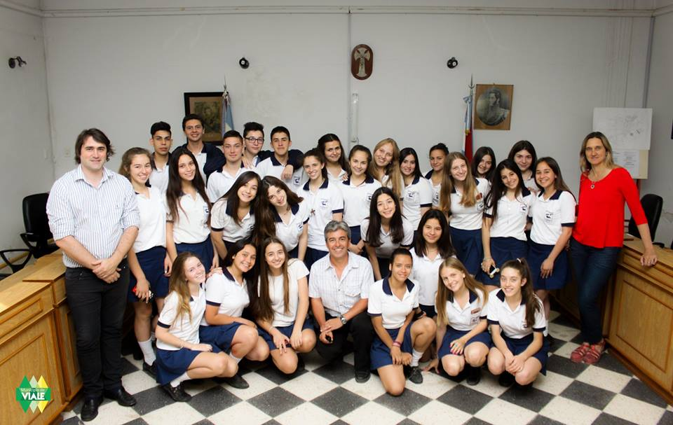 Más estudiantes visitan el Concejo Deliberante
