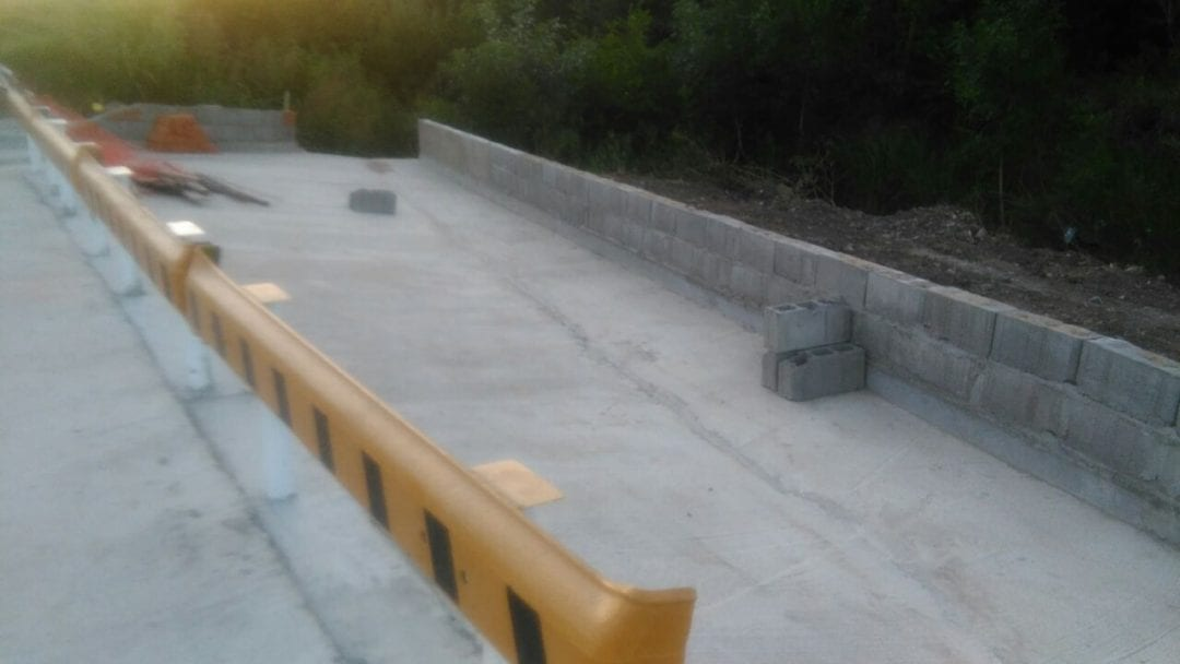 Las obras en calle Rawson están en su etapa final