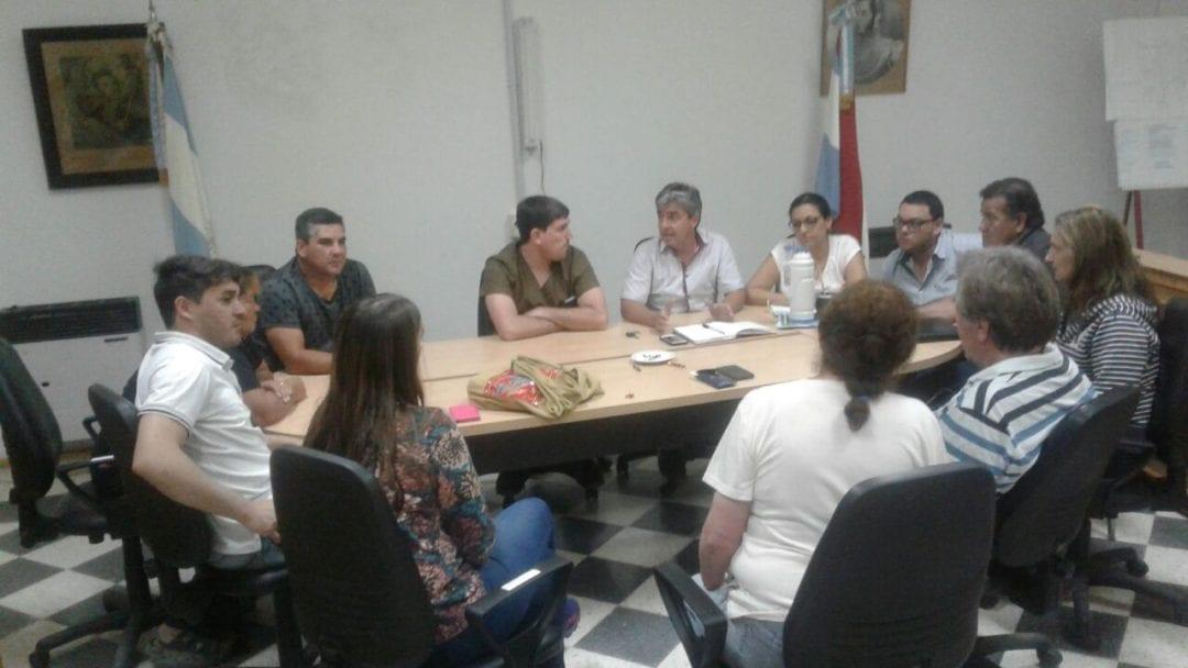 En el H.C.D. comenzaron las conversaciones para la elaboración de un estatuto del empleado municipal