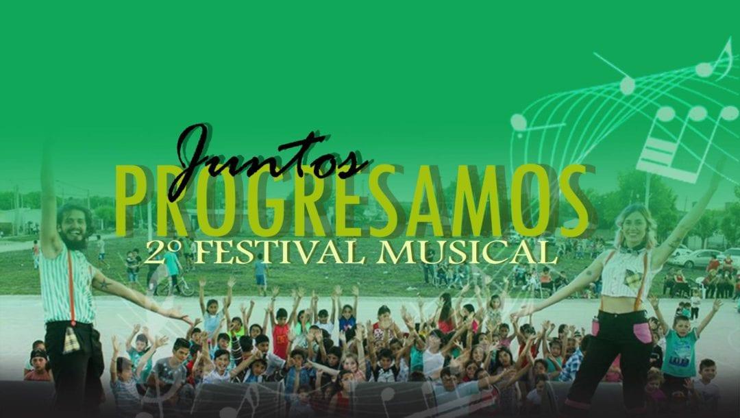 """Se vienela segunda edición del festival """"Juntos Progresamos"""""""