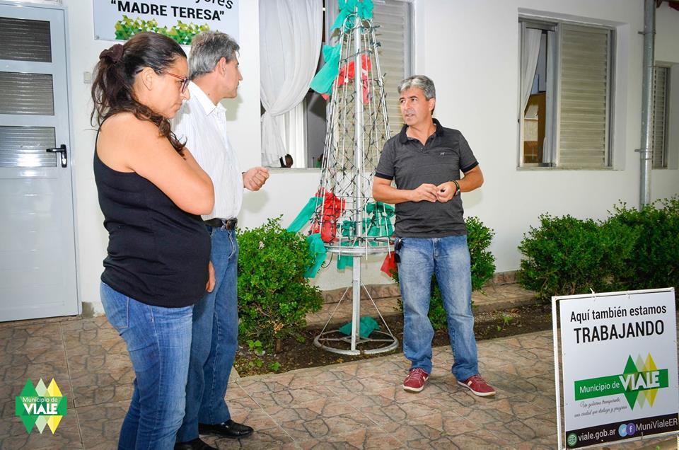 """Concejales de """"Cambiemos"""" realizaron una visita al Hogar Madre Teresa"""