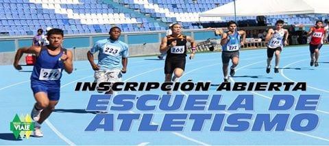 Inscripciones abiertas para la escuela de atletismo municipal