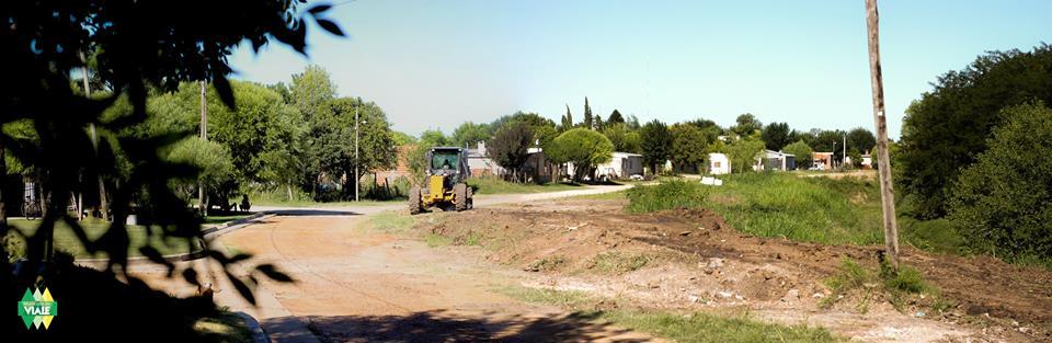 Acondicionamiento y limpieza de terraplenes