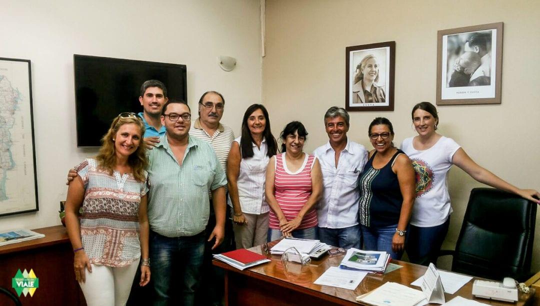 Concejales visitaron el IAPV
