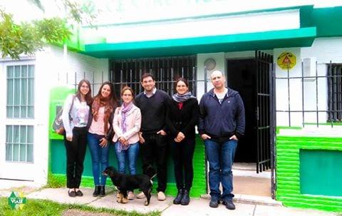 Área N.A.F. Viale se reunió con profesionales del Programa Enterate