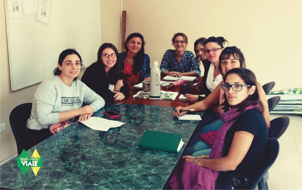 Reunión del Área Naf Viale con Trabajadores Sociales de Hábitat