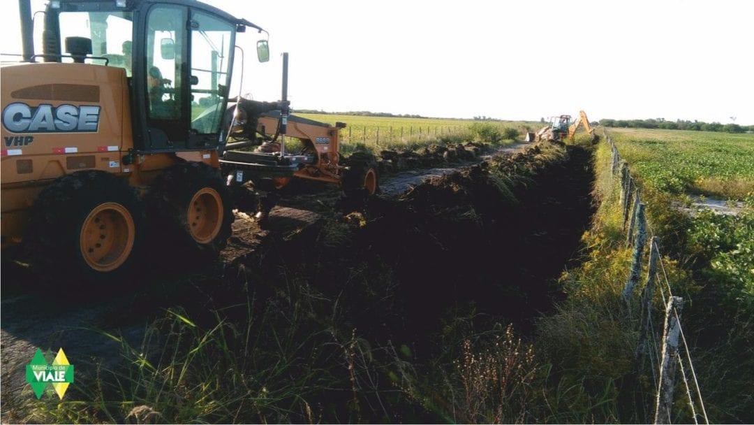 Más trabajos en caminos rurales