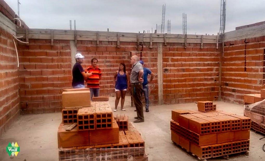 El municipio de Viale recibió la visita de Juan Maya