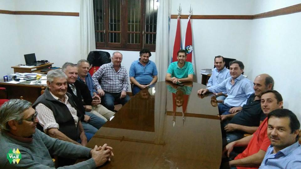 El Intendente se reunió con la comisión del autódromo