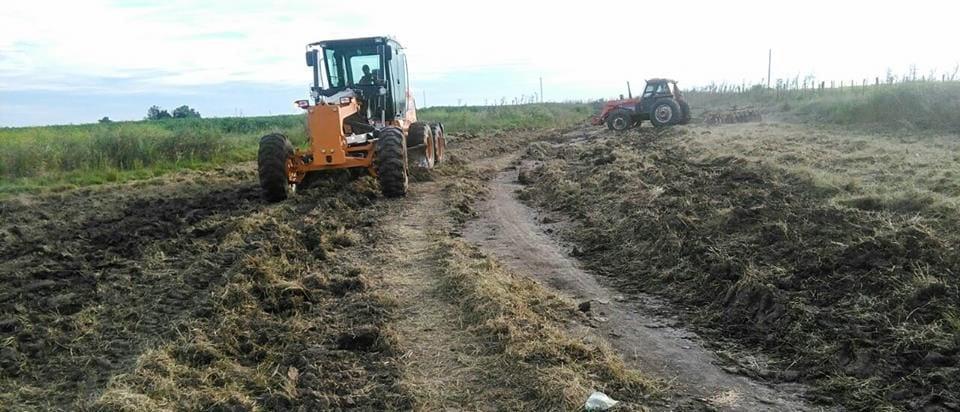 Siguen las tareas de mantenimiento de caminos