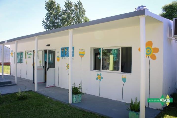 Trabajos de mantenimientos en los Jardines Maternales Municipales
