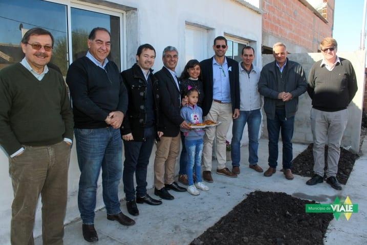 Se entregó una nueva vivienda del plan de autoconstrucción