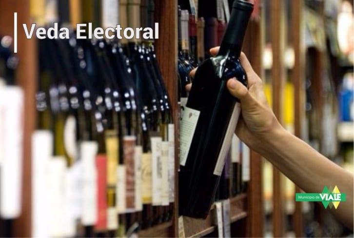 Se prohíbe la venta de bebidas alcohólicas durante la veda electoral