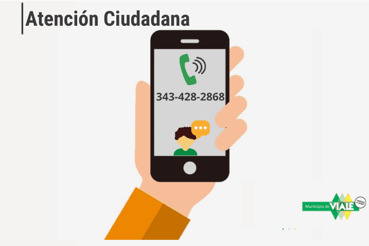 Nueva línea de Whatsapp de Atención Ciudadana