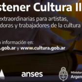 """Inscripción abierta a """"Becas Sostener Cultura II"""""""