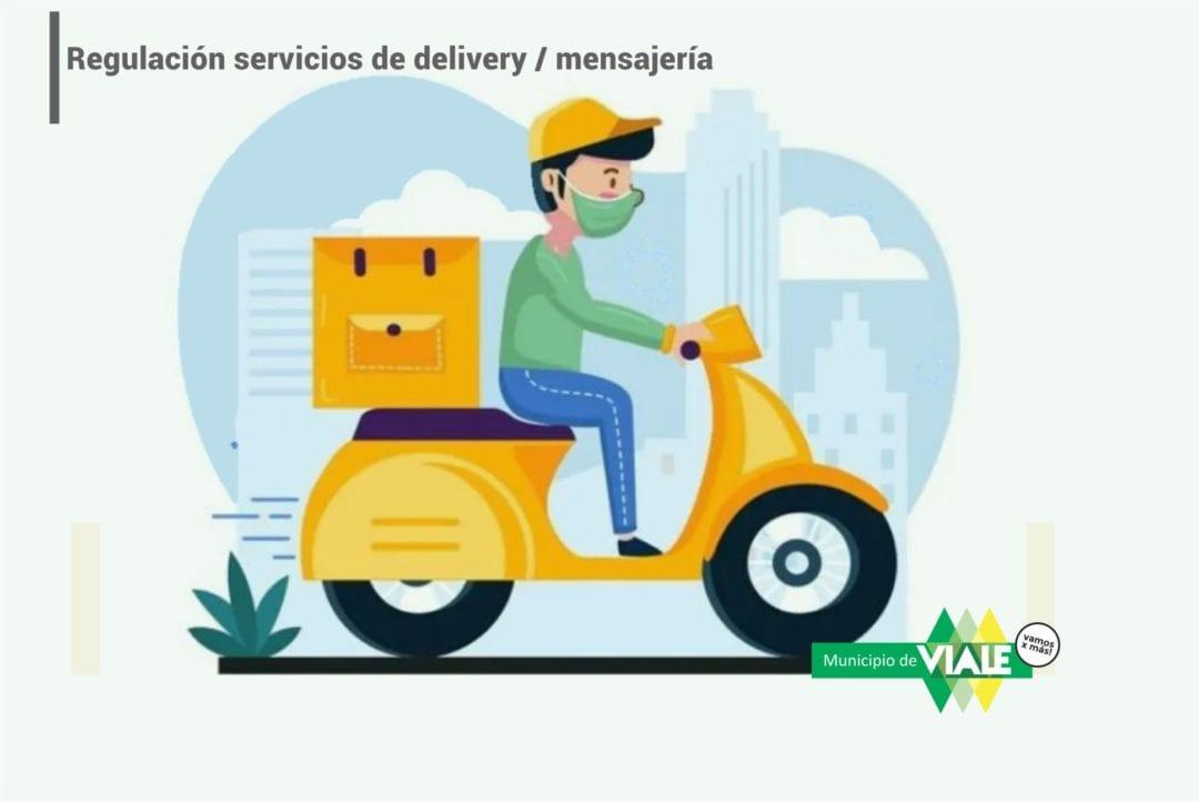Reglamentación servicio privado de cadetería, delivery y mensajería