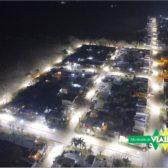 El Director de Servicios y Ambiente Mauro Enrique informa sobre inversión en luminarias del barrio Villa Tranquila